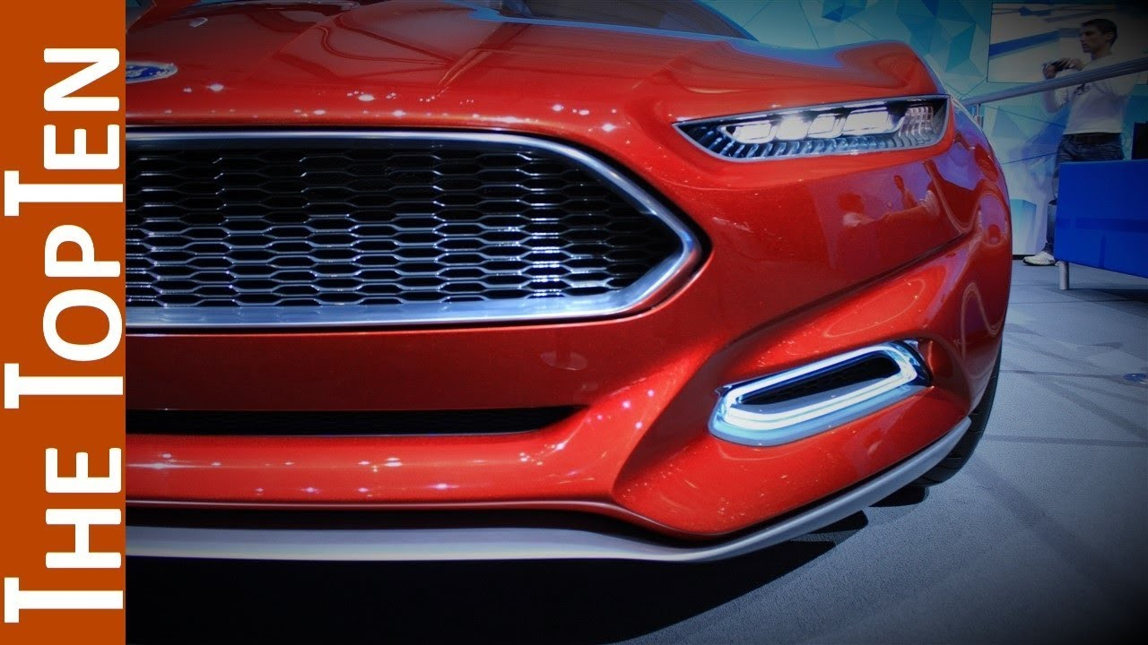 Ford Concept Cars >> The Top Ten Amazing Ford Concept Cars