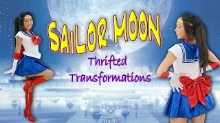 Thrifted Transformations | Ep. 10 (DIY Sailor Moon Costume)