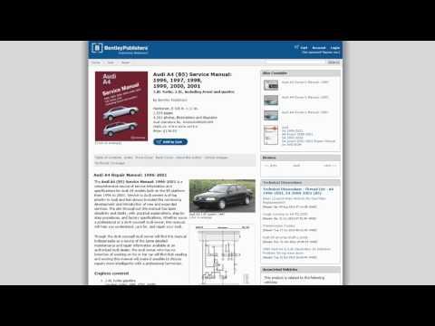 20% Discount on Bentley Service Manuals!