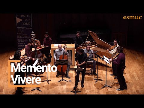 Concert De Memento Vivere | Dimarts Toca ESMUC 2019 | ESMUC