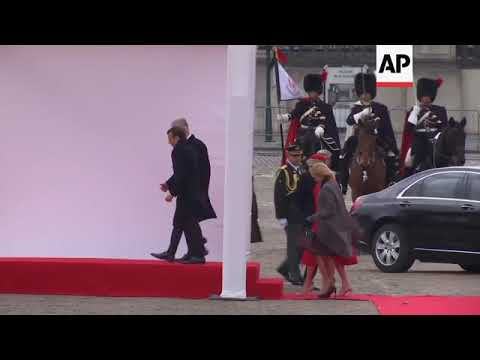 King And Queen Of Belgium Welcome French First Couple