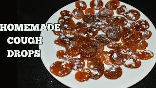 How to make Cough drops at Home-2 Home Remedies for Cold, Cough and Flu-Ayurvedic Throat Lozenges