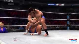 WWE SummerSlam 2014 Jack Swagger vs Rusev Flag Match Result!