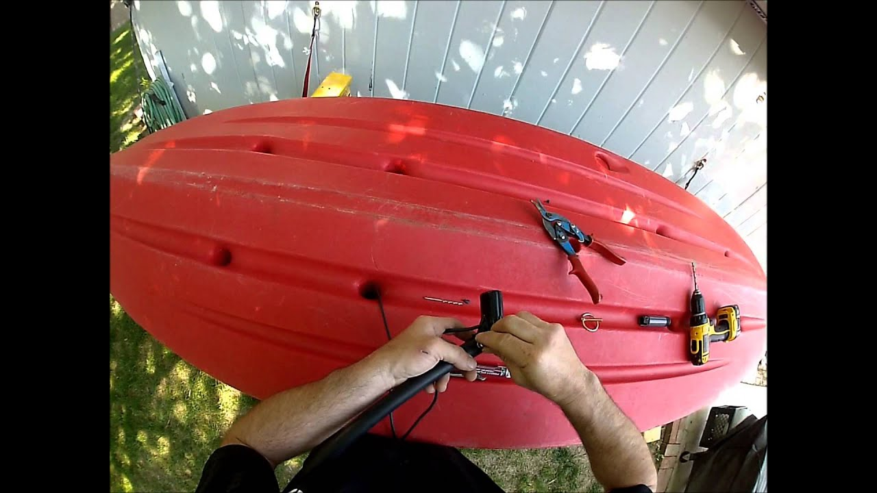 4 Easy Ways To Mount A Transducer In A Kayak