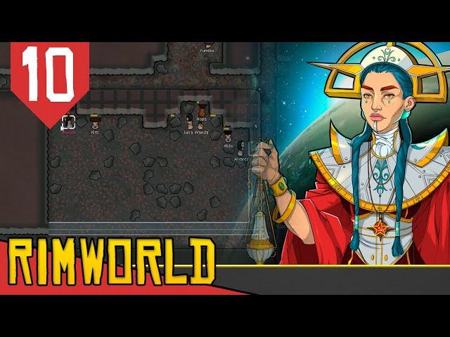 LEGIÃO do MST - Rimworld Socialismo Transhumanista #10 [Gameplay PT-BR]