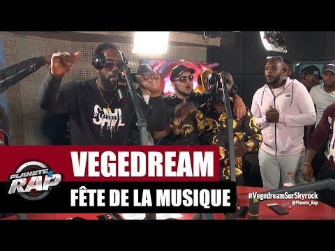 Vegedream en live 'Fête de la musique' #PlanèteRap