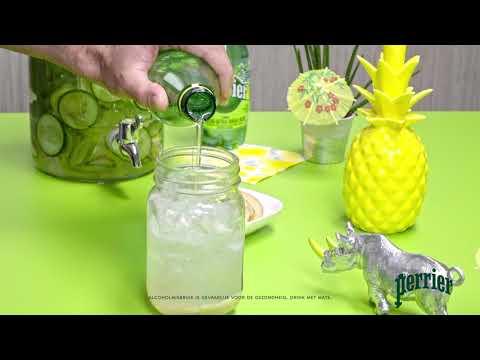 Perrier - Cocktail Recept - Perrier Lime Detox