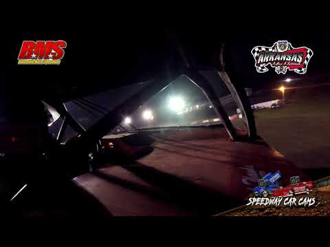 #11 Jody Shaw - Kajun Mini Stock - 9-15-18 Batesville Motor Speedway - In Car Camera