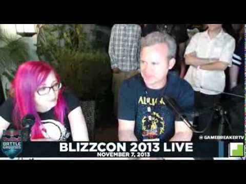 BlizzCon 2013 GAMEBREAKER TV  WoW Insider  WoW Head: Tradechat