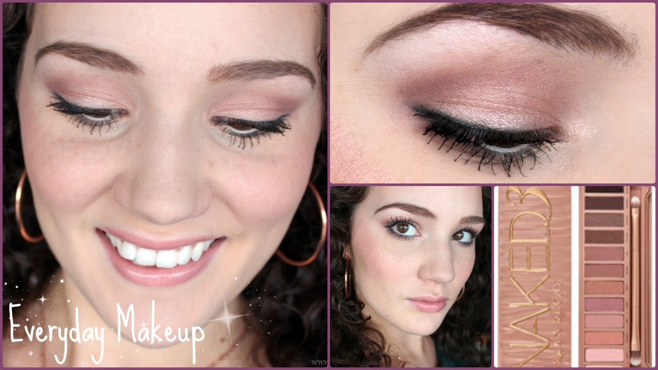 Everyday Neutral Tutorial Ft The Naked3 Palette Youtube