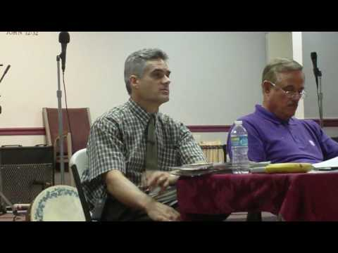 Creation v. Evolution   Q/A   Pastor Bruce Bennett vs. Stuart Napier