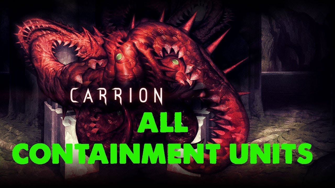 Carrion All 9 Containment Unit Locations Jared Stults