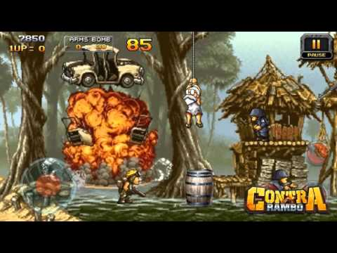 Contra Rambo Crazy for Android