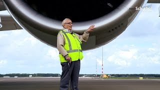Meneer Van Dam verrast met A380