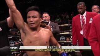 """""""Mr. Lightning"""" Lerdsila Finishes it With a Lightning Fast Roundhouse   Lion Fight 36 Highlights"""