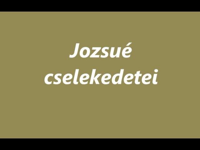 Jozsué cselekedetei