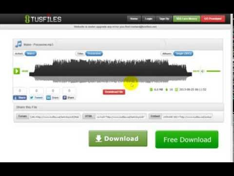 how to download mp3 files