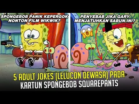 5 Adult Jokes (Lelucon Dewasa) pada Kartun SpongeBob SquareP