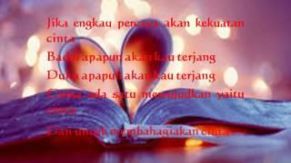 percaya akan cinta