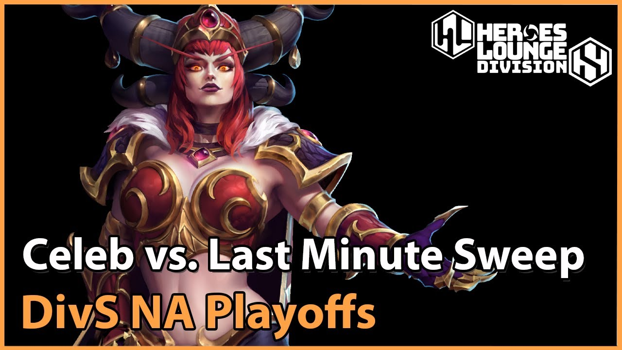 ► Celeb Gaming vs. Last Minute Sweep - Division S NA - Heroes of the Storm Esports