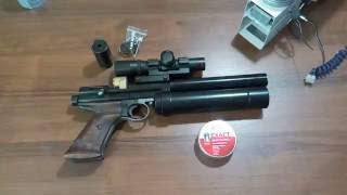 PCP 1377 4.5mm airgun pistol