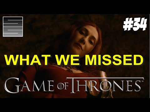 Game Of Thrones Season 8 Prep Foreshadowing | Game Of Thrones What You Missed Part 34