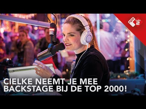Backstage bij de Top 2000 met Cielke! | NPO Radio 2