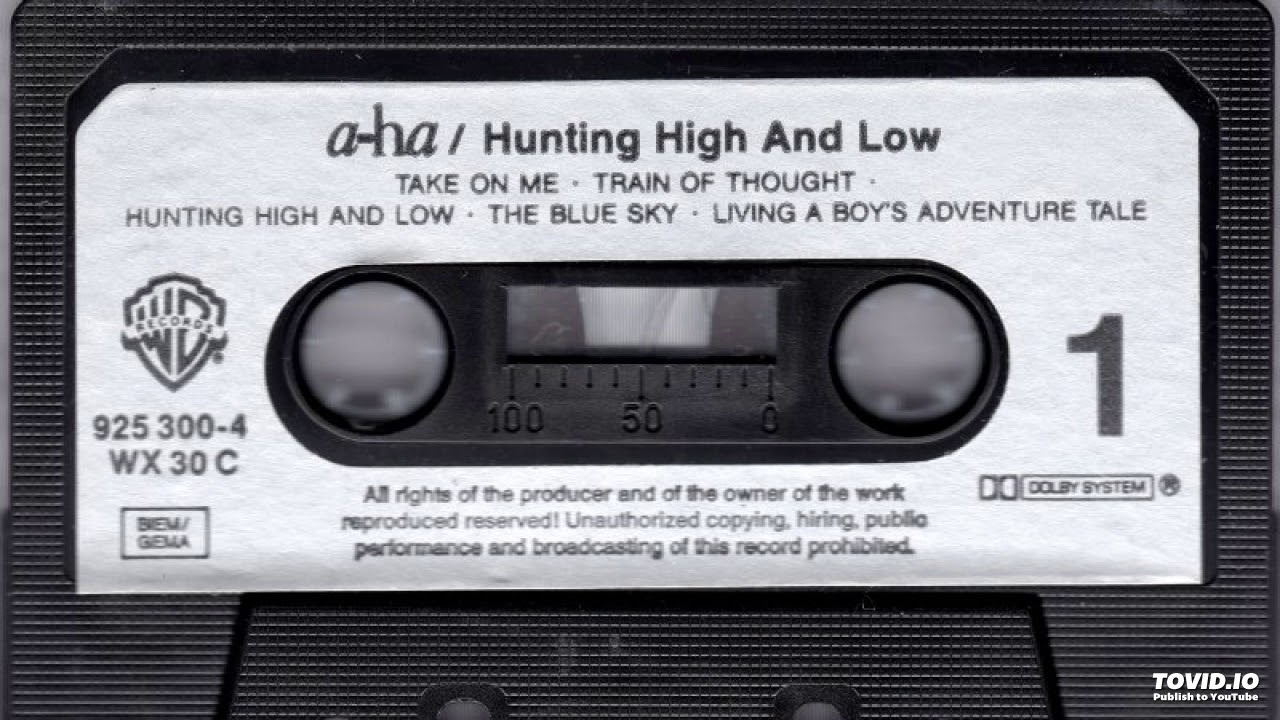 A Ha Hunting High And Low Early Mix Hunting High And Low