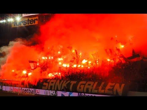 GHS in St.Gallen - FC St.Gallen vs. Grasshopper-Club Zürich