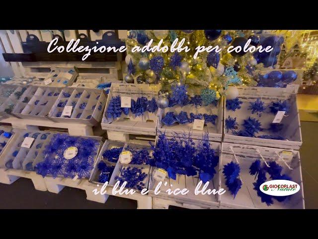 collezione Natale per colore - Blu & Ice Blue