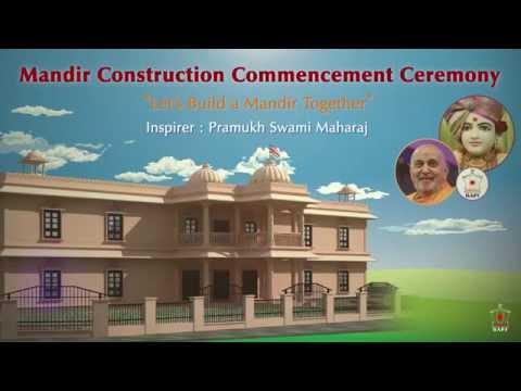 Adelaide Mandir Construction commencement Ceremony