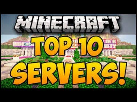 top 10 minecraft servers 2016