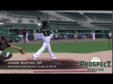 Jacob Burton, OF, New Diana High School, Slow Motion Swing Mechanics
