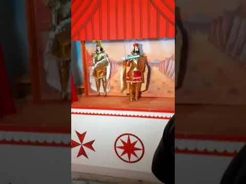 """Traditional """"Opera Dei Pupi"""" Sicilian Puppet Theatre"""