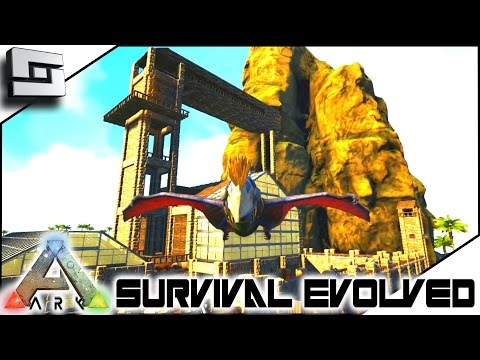 ARK: Survival Evolved - EPIC BASE AND MATING SCHOOL! S4E32 ( The Center Map Gameplay )