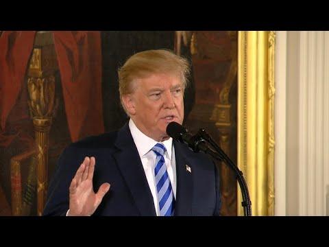 Trump calls for bump stock ban, stronger background checks