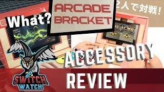Arcade Bracket Nintendo Switch Accessory Review - Knockoff Labo? (Video Game Video Review)