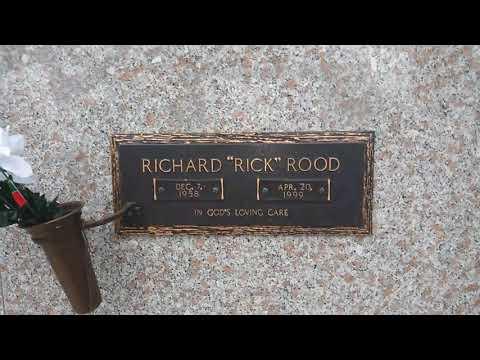 Ravishing Rick Rood grave.