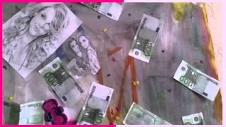 Фон или плакат / Декор из денег
