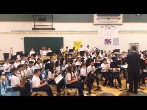 Harbour Pointe Middle School 6th grade advanced band 2nd
