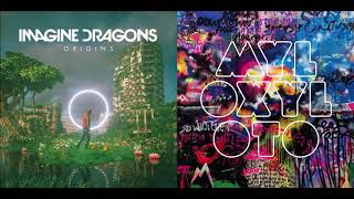 Cool Paradise - Imagine Dragons vs Coldplay (Mashup)