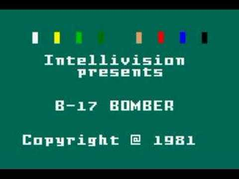 Intellivision B-17 Bomber Introduction - YouTube