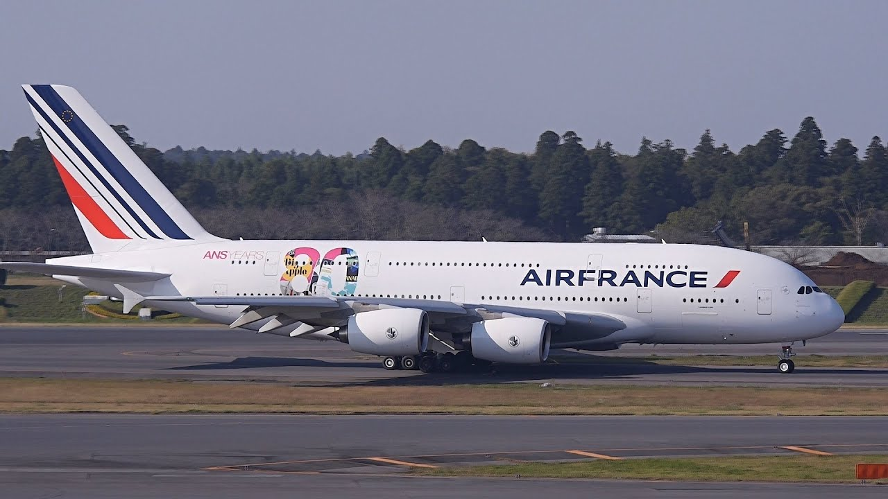 Air france 80th anniversary livery airbus a380 f hpji for A380 air france interieur