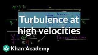 Turbulence at high velocities and Reynold