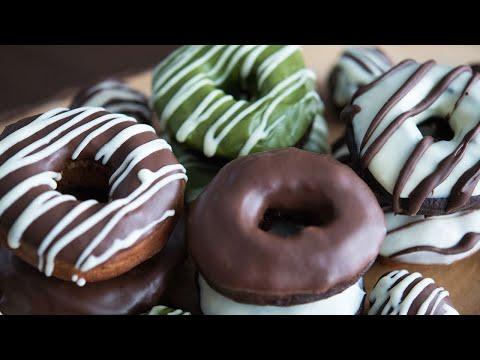チョコレートドーナツ|ホットケーキミックスで作るかんたんお菓子