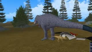 Roblox / Best dinosaur game / Era of Terror