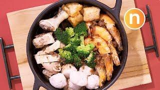 Poon Choi (Hakka)   Pen Cai   盆菜 [Nyonya Cooking]