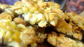 Florentines: Chocolate Coated Nut Clusters Laced With Orange & Lemon