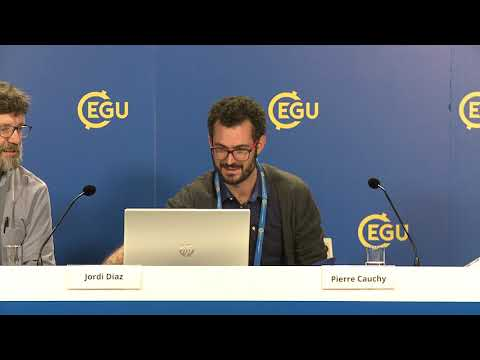 EGU2018: Eavesdropping on the ocean and cities (PC1)