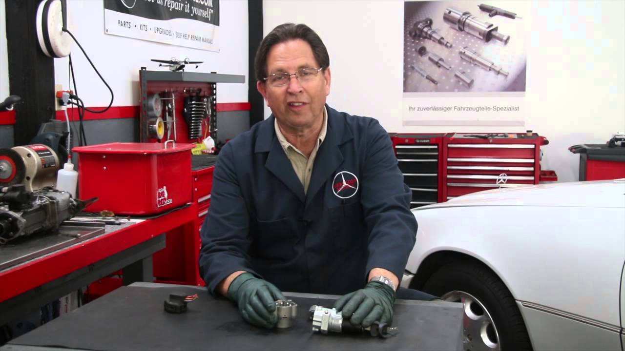 mercedes ignition switch wiring plug disaster: 1975 to 1995 benz series  part 18 w/ kent bergsma - youtube